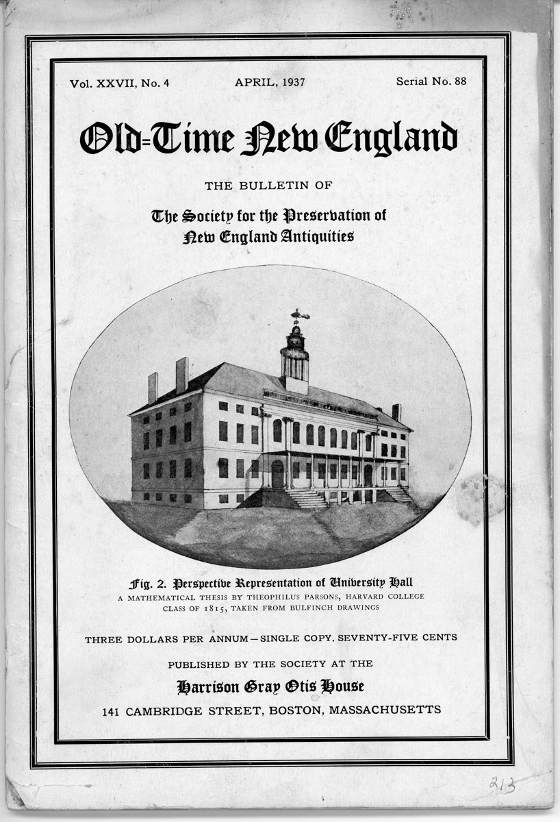 """Old Time New England booklet with story """"The Steamer J.T. Morse and others"""