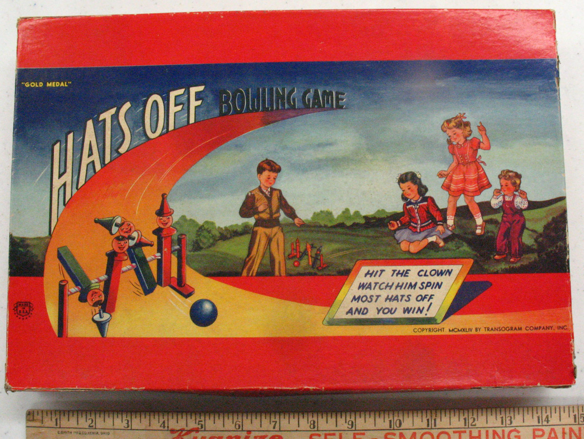 Hats Off Bowling Game