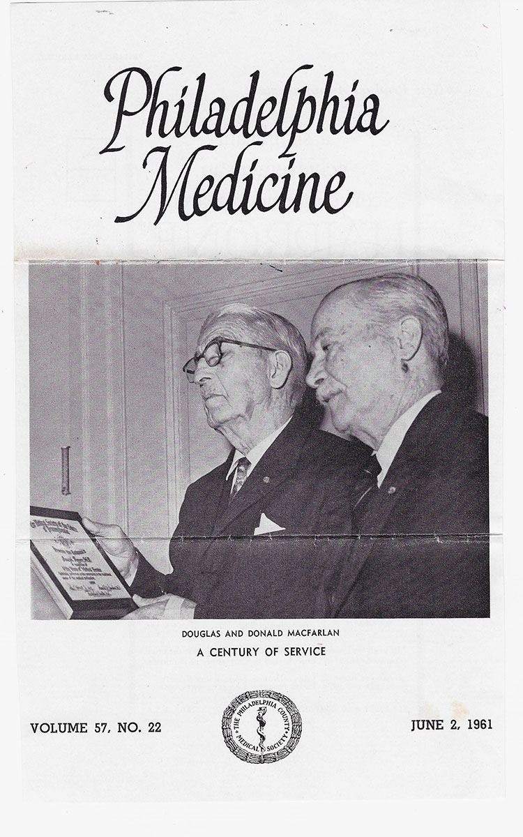 Douglas and Donald Macfarlan doctors